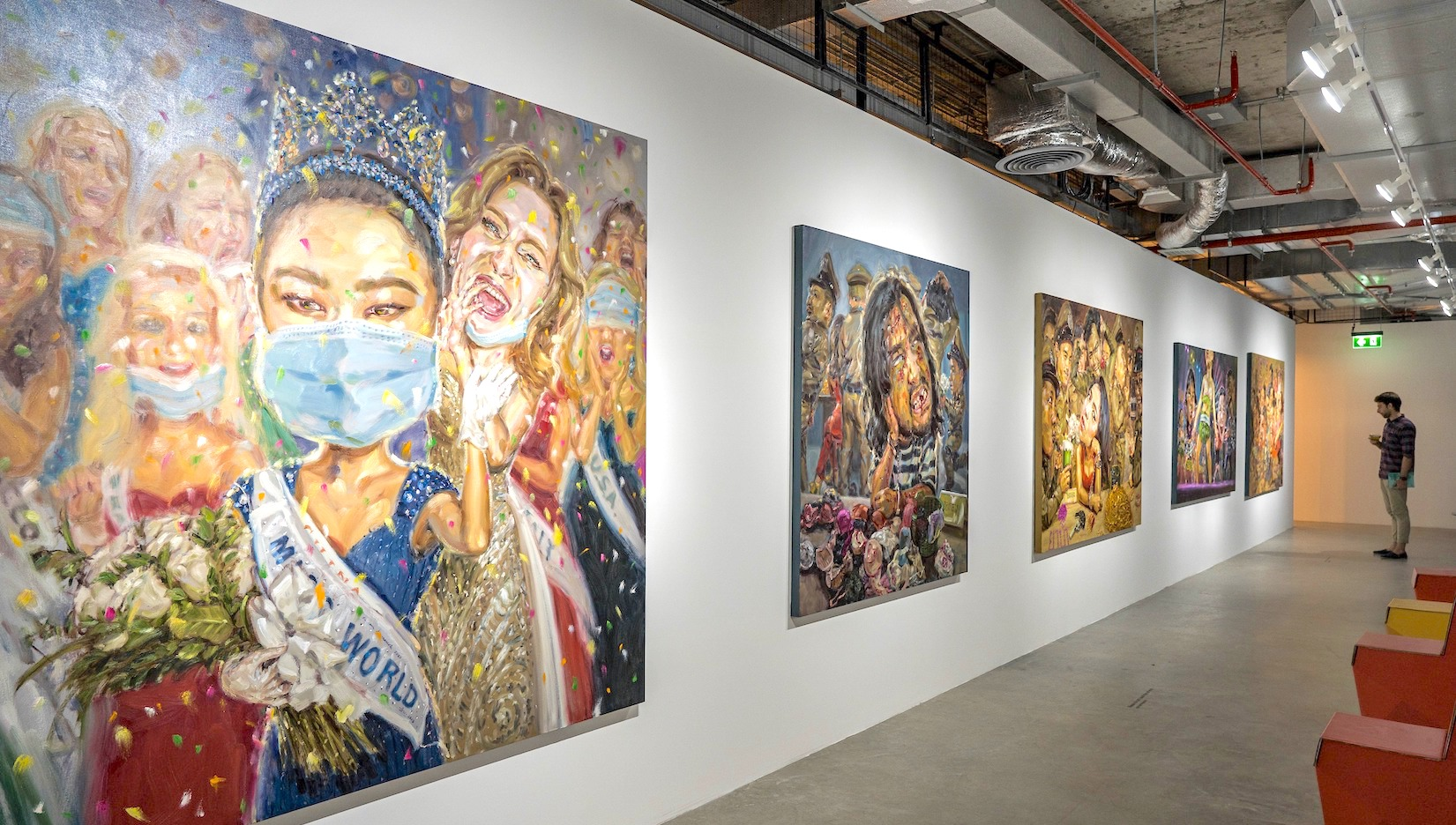 Please visit my works in Bangkok Art Biennale 2020 at BACC and The PARQ